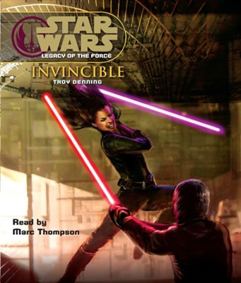 star wars legacy of the force invincible iskape audiobooks